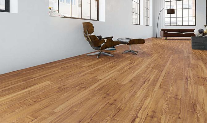 Montierter Fußboden 'Wild Oak'