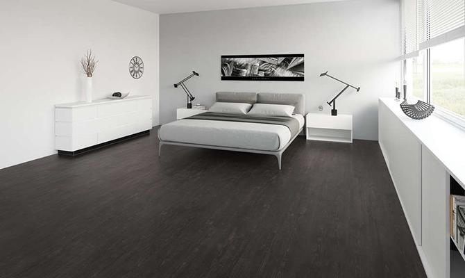 Fußboden 'Midnight Oak' montiert von Tischlerservice Schönherr